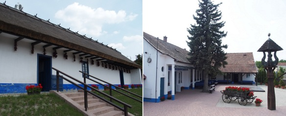 Entering the gate is the courtyard. Exhibition room on the left. A souvenir shop in the center. Management office on the right.