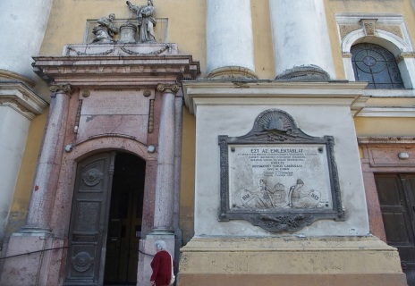 The gate of the Great Church.
