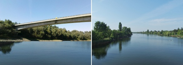 Saint Istvan Bridge over the Tisza River