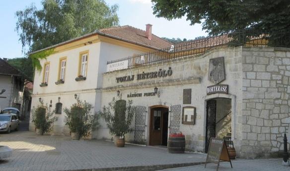 Rakoczi Wine Cellar in Tokaj