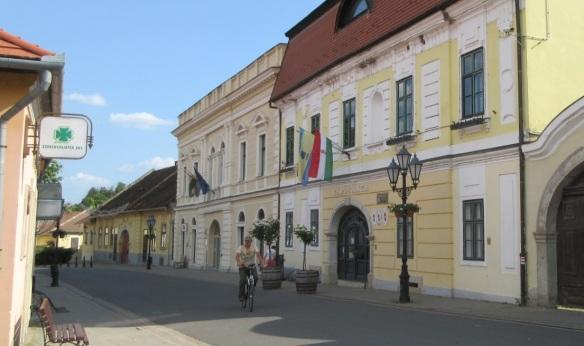 Town Hall on the Rakoczi Street, Tokaj