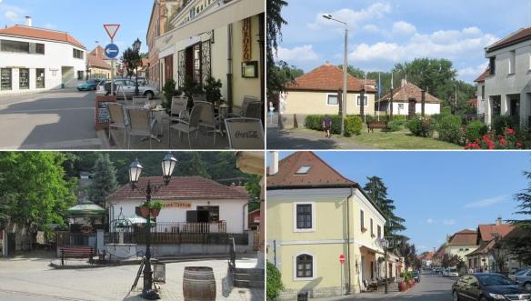 Strolling about the Rakoczi Street Tokaj.