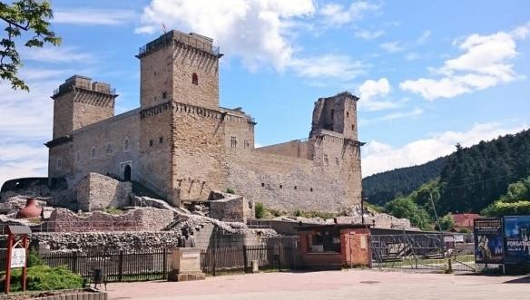 Diósgyőr Castle ruins of Miskolc