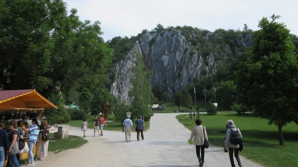 We are going to the Aggtelek caverns of the Aggtelek National Park.