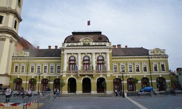 City Hall on the Dobó István Square Eger