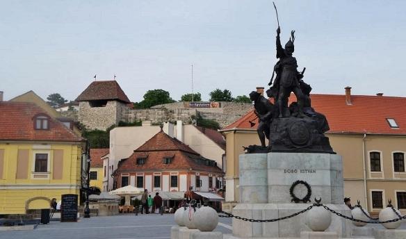 Dobó István Square Eger Hungary
