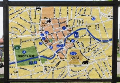 Eger Town Map