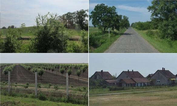 Scenery from Kunhegyes to Hortobágy Hungary