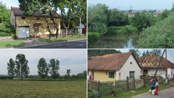 We are going north on the Hungarian great plain, Pusta, from Lillafüred.