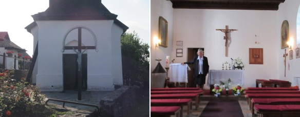 Entrance and Interior of St. Martin Church