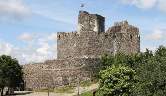 Arrived at Hollókő Castle