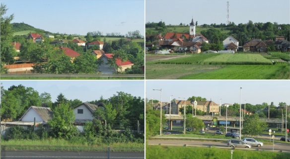 We are driving to the capital, Budapest, from the village of Hollókő.