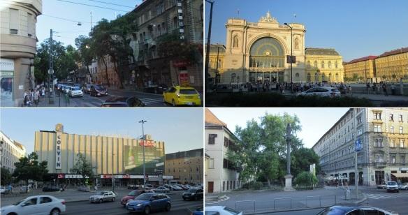 From Kerepesi Street to Rákóczi Street
