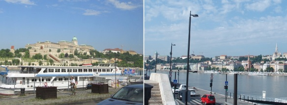walking along the Danube to the Kossuth Lajos square.