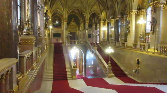 Main hall of parliament building