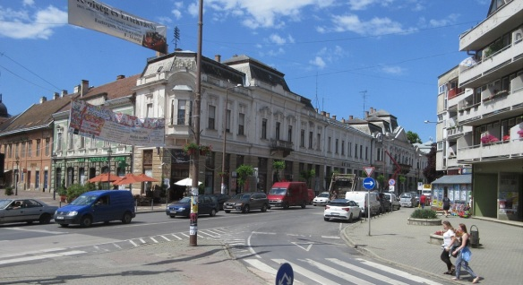 Arrived at the town centre of Esztergom.