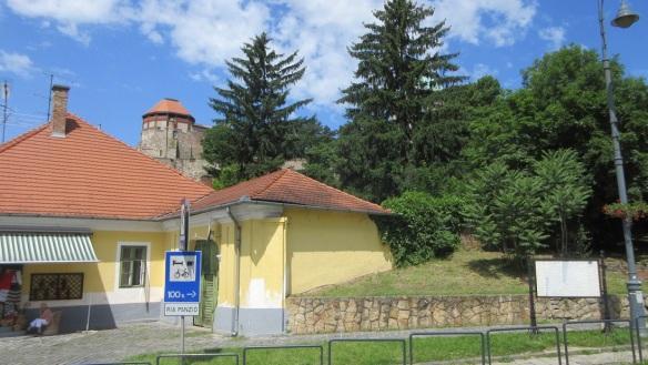 Walking to the Esztergom Basilica