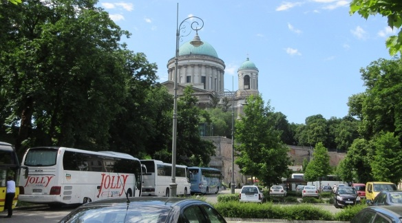 Arrived at the Esztergom Basilica.