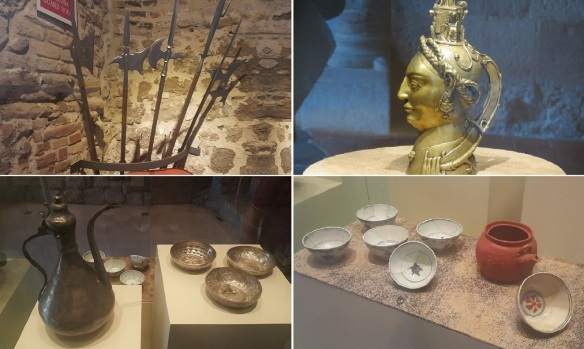 Exhibition of the Esztergom Castle Museum.