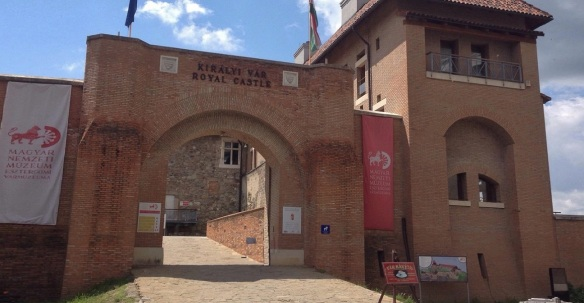 Entrance of Esztergom Castle Museum