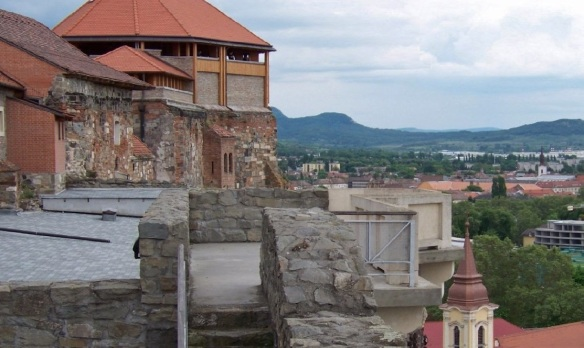 Observation Platform of the Esztergom Royal Palace.