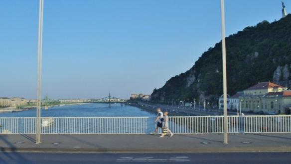 Elisabeth Bridge over the Danube Budapest