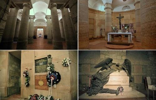 Crypt of Esztergom Basilica.