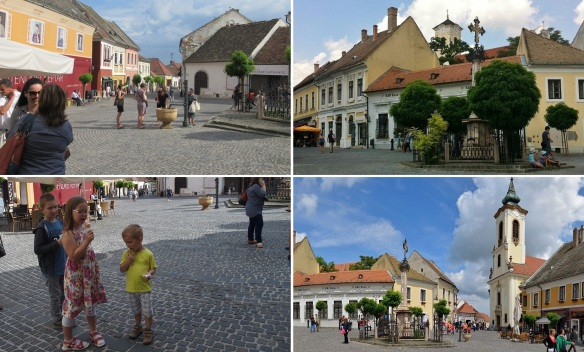 The main square of Szentendre