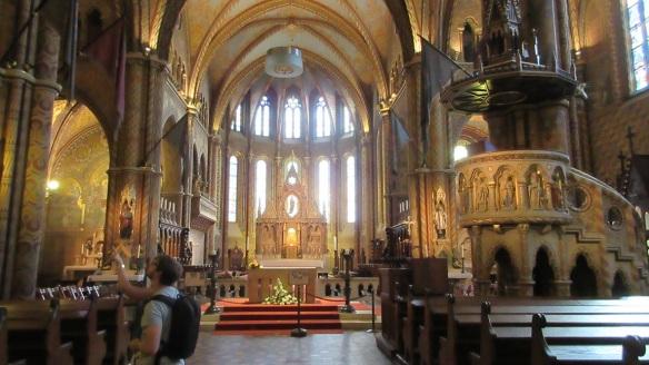 Main Alter of Matthias Church