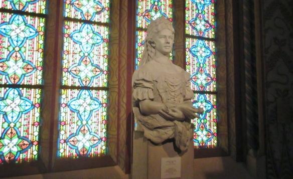 Portrait Bust of Elisabeth of the Austrian Empire
