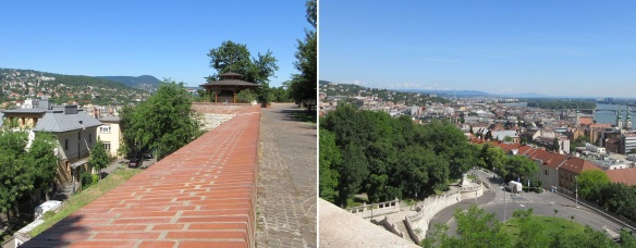 Gellért Hill and View from the Hill.