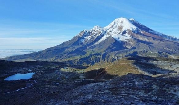 Chimborazo Ecuador 6,263 metres