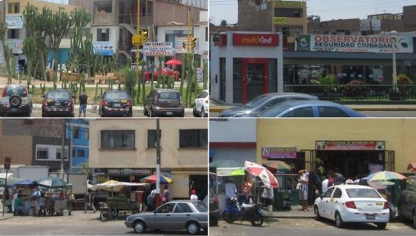 Streets of Lima Peru.