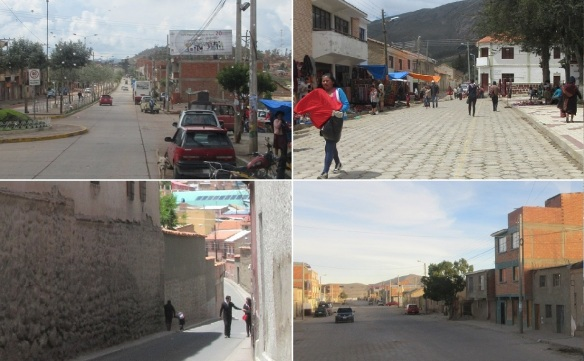 Streets in Bolivia