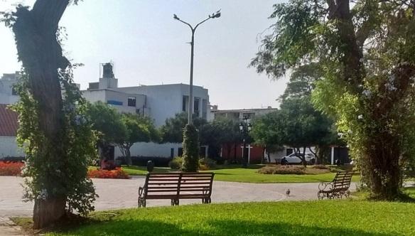 Larco Park Lima