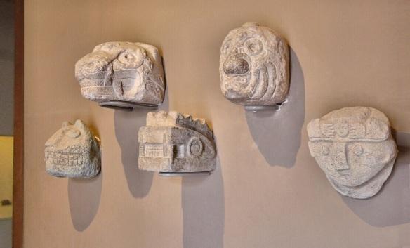 Tenon Heads, Chavín Culture (900 BC - 200 BC).