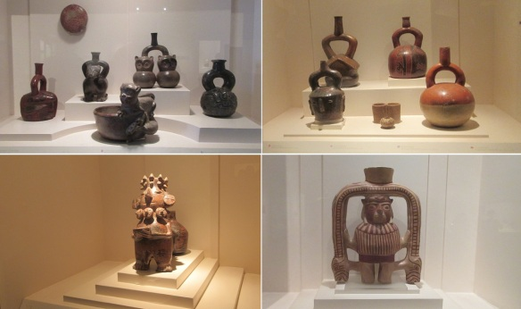 Pottery of the Moche civilization (A.D.100–700), it flourished in northern Peru.