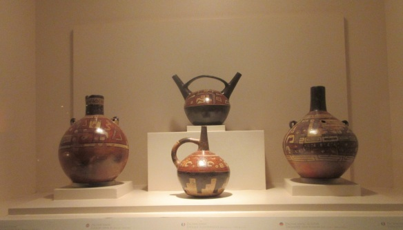 Ceramic pots of pre-Columbian