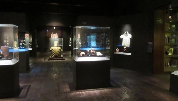 Exhibition room of Larco Museum