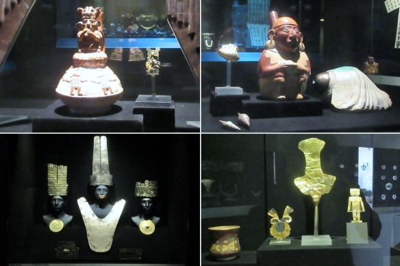 It is impossible to describe and explain all the photos of the Larco Museum. Sorry.