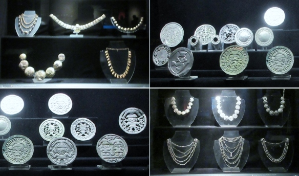 Ancient Incas jewelry. In any age, women love such things.