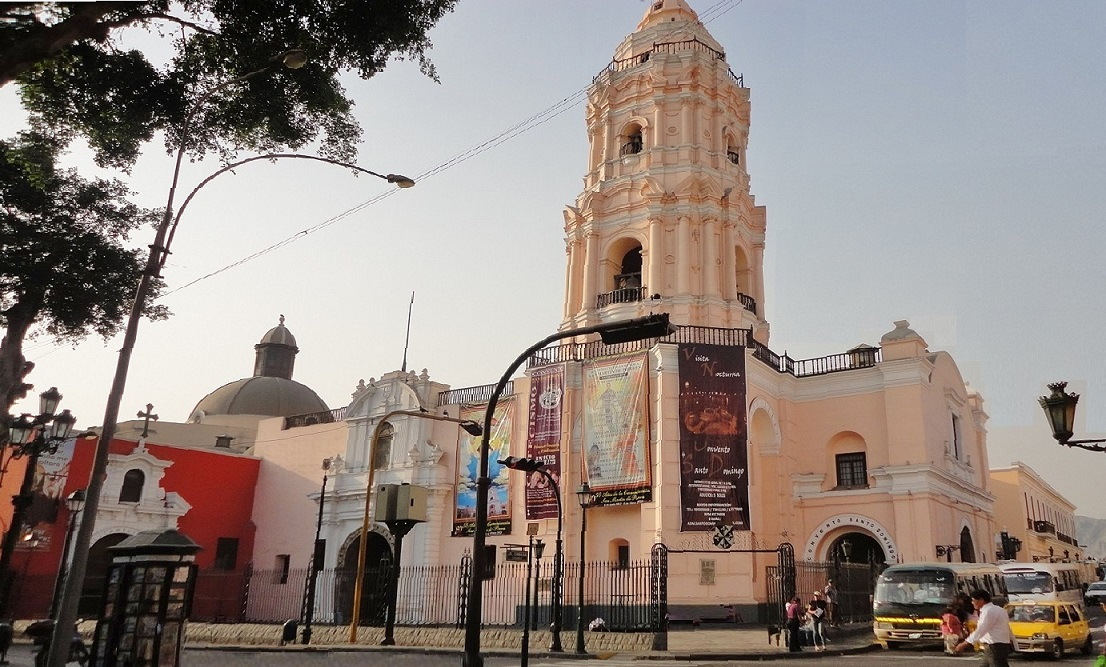 Basilica and convent of Santo Domingo Lima   weepingredorger